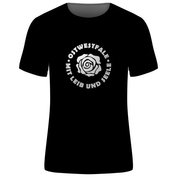 """Unisex T-Shirt """"Ostwestfale - Mit Leib und Seele"""""""